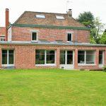 Agrandissement de maison en briques
