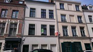 Travaux de rénovation en cours d'un appartement au Vieux-Lille