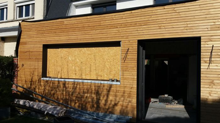 creation extension sur wasquehal chantier en cours