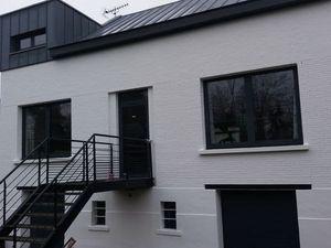 Rénovation extérieure de maison - Ravalement de façade à Roncq