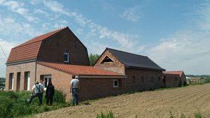 Projet de surélévation d'extension pour agrandir l'étage d'une maison de campagne à Bailleul