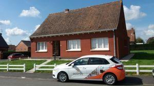 Travaux de rénovation intérieure dans une maison de quartier à Méteren, près de Bailleul (59)