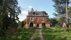 Rénovation d'un château - maison de maître ancienne dans la métropole Lilloise - entreprise de rénovation