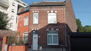 Travaux de rénovation d'une maison à Roubaix