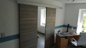 Rénovation de verrière à Marcq-en-Baroeul pour un bureau - Travaux de menuiserie