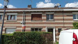 Démarrage de chantier pour une rénovation d'une maison à Marcq-en-baoreul