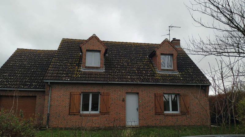 Rénovation intérieure et terrassement d'une maison à Lille