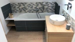Rénovation d'une salle de bains à Bondues