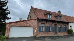 Chiffrage pour la rénovation d'une maison à Faumont
